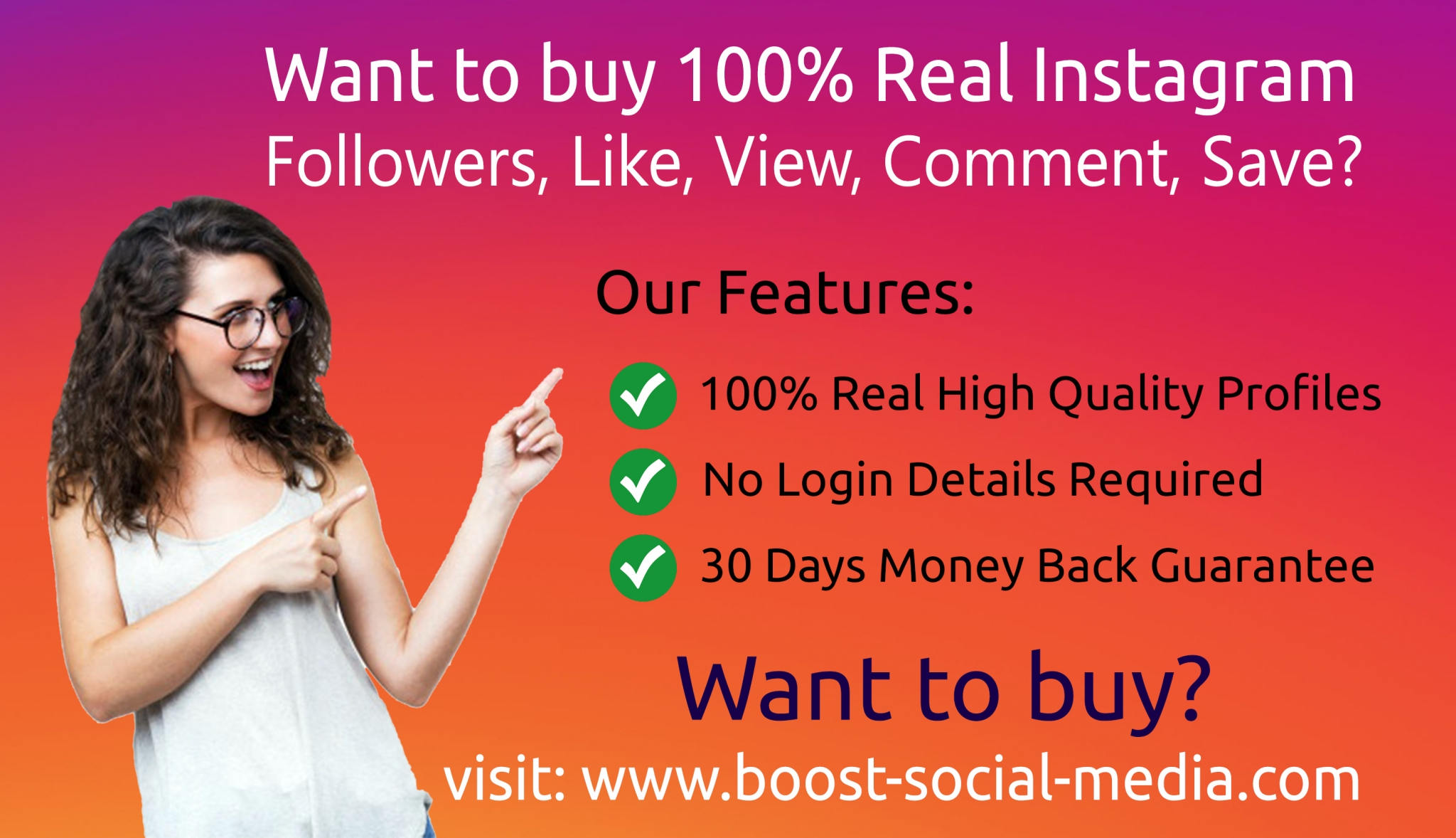 Buy active Instagram followers at the cheap price.