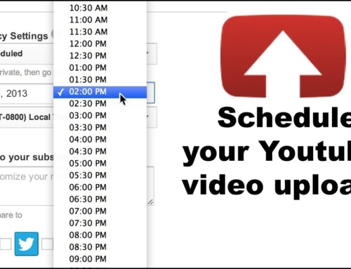 How to Schedule YouTube Videos?